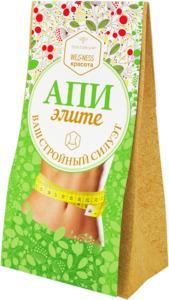 Зелёный чай с растительными экстрактами АпиЭлите (100 г)